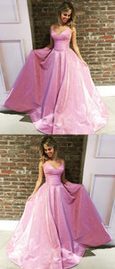 Charming Prom Dress, Sexy Sleeveless Prom Dresses, Long Evening Gowns, D0094