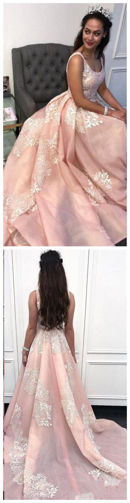 Sexy O-Neck Appliques A-Line Prom Dresses,Long Prom Dresses,Green Prom Dresses, Evening Dress Prom Gowns, Formal Women Dress,Prom Dress, D0129