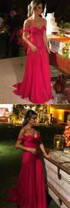 Elegant Mermaid Off The Shoulder Prom Dresses Lace Appliques Evening Gowns,D0198