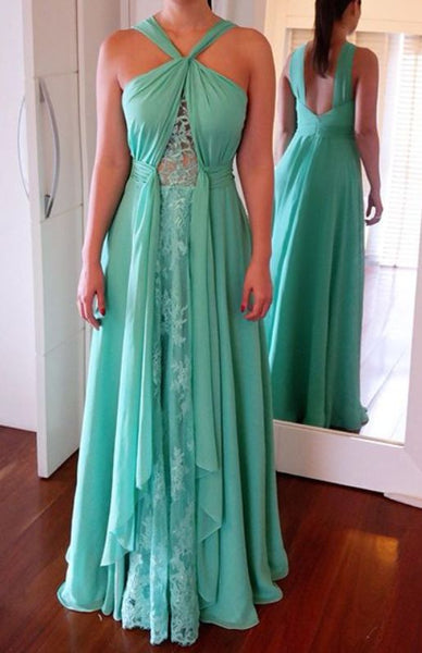 Long Prom Dresses ,Green Prom Gowns, Beading Prom Dresses, D0231