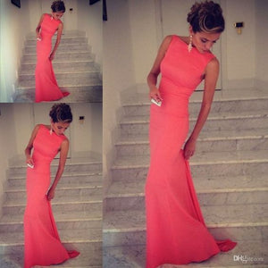 Backless Charming Prom Dresses,The Elegant Floor-Length Evening Dresses, Prom Dresses, Real Made Prom Dresses On Sale,, D0317