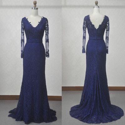 Cheap Prom Dresses, Evening Dress Prom Gowns, V-Neck Lace A-Line Prom Dresses,Long Prom Dresses,Formal Women Dress  , D0341