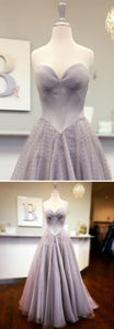 Princess Sweetheart Blue/Pink Long Ball Gown, D0384
