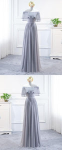 Cheap Comfortable Prom Dresses Long, Chiffon Prom Dresses, Simple Prom Dresses , D0411