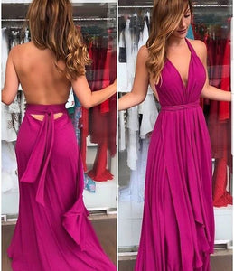 Charming Halter A-Line Prom Dresses,Long Prom Dresses,Cheap Prom Dresses, Evening Dress Prom Gowns, Formal Women Dress,Prom Dress , D0445