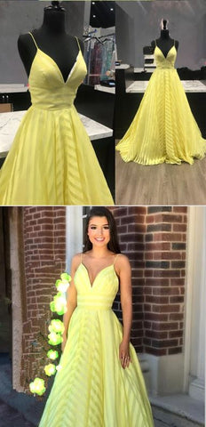 2018 Spaghetti Straps A-Line Prom Dresses,Long Prom Dresses,Cheap Prom Dresses, Evening Dress Prom Gowns, Formal Women Dress,Prom Dress, D0451