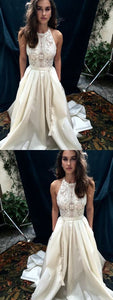 Sexy A-Line Lace Prom Dresses,Long Prom Dresses,Cheap Prom Dresses, Evening Dress Prom Gowns, Formal Women Dress, D0456