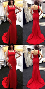 Red Prom Dress Women Sexy Long Dress,D0485