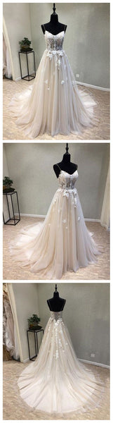 Sexy See Through A Line Lace Evening Prom Dresses, Popular Cheap Party Prom Dress, Custom Long Prom Dresses, D0568