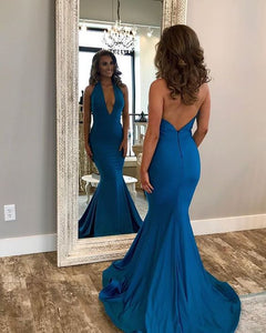 Sexy Halter Mermaid Prom Dresses,Long Prom Dresses,Cheap Prom Dresses, Evening Dress Prom Gowns, Formal Women Dress,Prom Dress, D0593