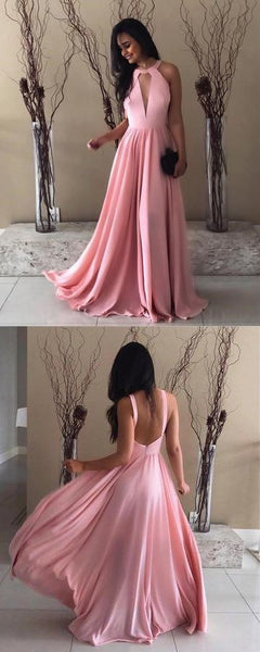 2019 Neck A-Line Prom Dresses,Long Prom Dresses,Green Prom Dresses, Evening Dress Prom Gowns, Formal Women Dress,Prom Dress, D0595