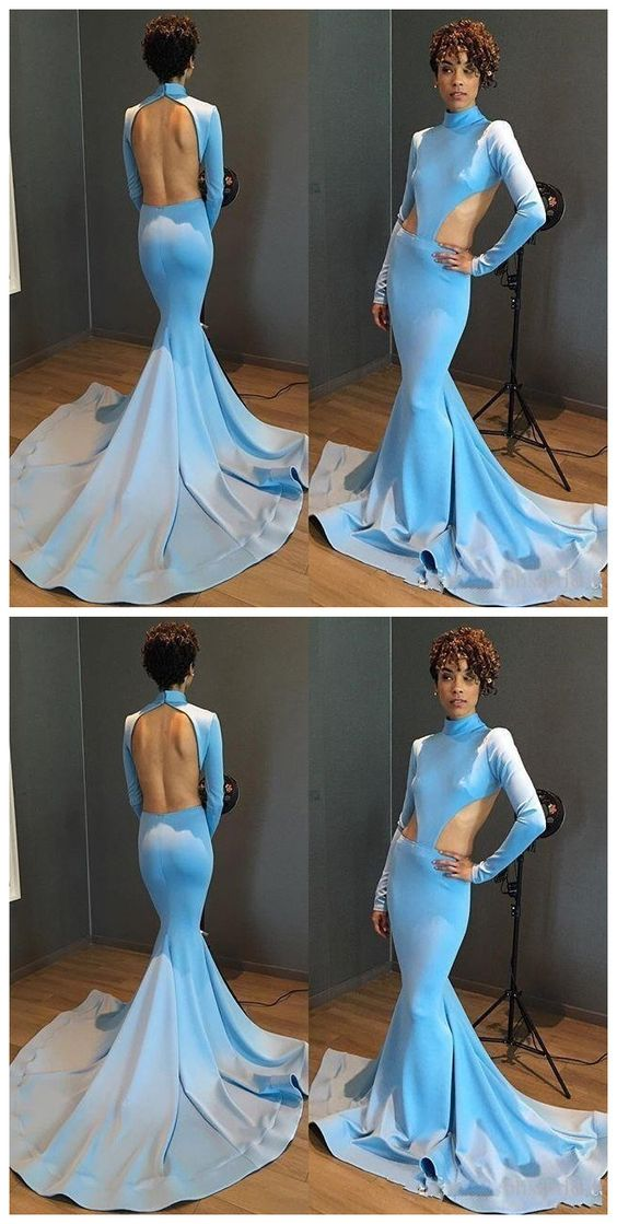Elegant Cut Out Sexy Backless Prom Dresses,New Prom Gowns,Evening Gown,Party Dresses, D0846