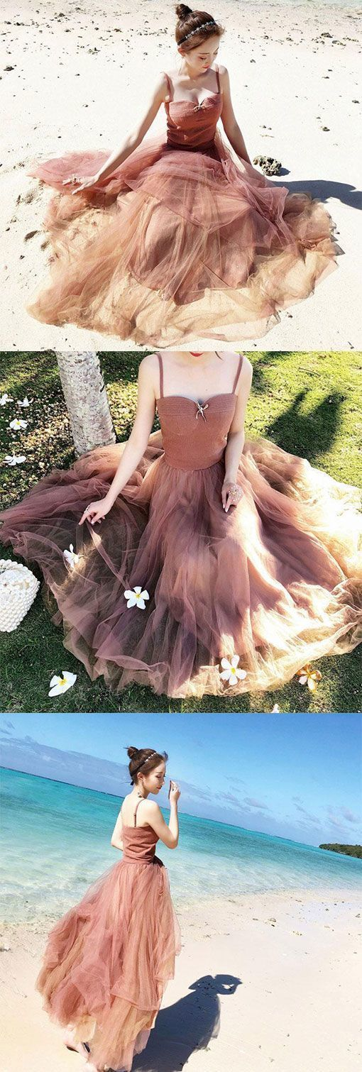 Cute Sweetheart Tulle Women Fashion Dress, Tulle Prom Dress, D0865