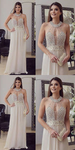 Long Prom/Evening Dress With Beading,Floor Length Party Gown, High Quality ,Sexy, D0880