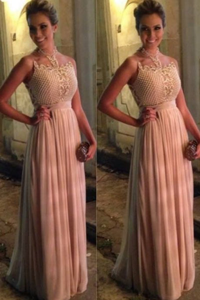 Pink Prom Dresses,Pink Evening Gowns,Simple Formal Dresses,Prom Dresses, Formal Dresses, D0979