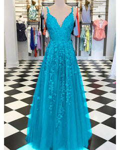 Burgundy /Turquoise /Green Fancy Girls Burgundy Lace Appliques Prom Dresses with Straps DP072