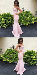 Charming Sweetheart Prom Dress, Sexy Mermaid Simple cheap Evening Dress, Prom Dress,E0340