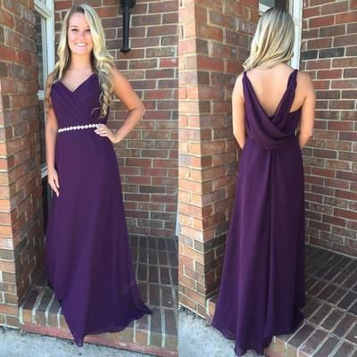 Charming Prom Dress, Simple Prom Dresses, Long Evening Dress, Formal Gown,E0611