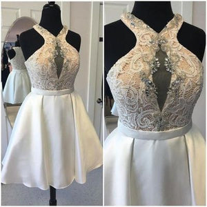 Elegant V-Neck A-Line Homecoming Dresses,Short Prom Dresses,Cheap Homecoming Dresses, Graduation Dress, Formal Women Dress,E0896