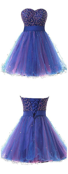 Homecoming Dress Short Graduation Dresse,E0958