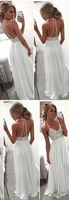 F0044 Backless Beading Real Made Prom Dresses,Long Evening Dresses,Prom Dresses