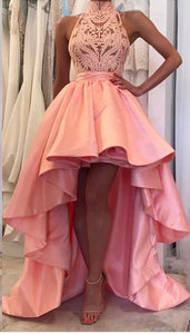 F0281 Charming Prom Dress, Sexy Prom Dress, High Low Long Evening Dress