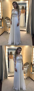 F0289 Discount Popular Lace Wedding Dress, Long Sleeves Wedding Dress