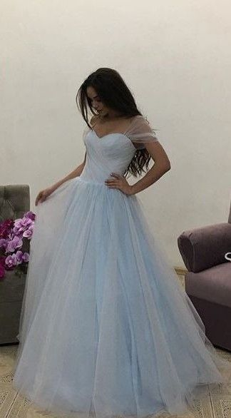 F0290 Charming Prom Dress, Elegant Tulle Prom Dress, Long Evening Dress