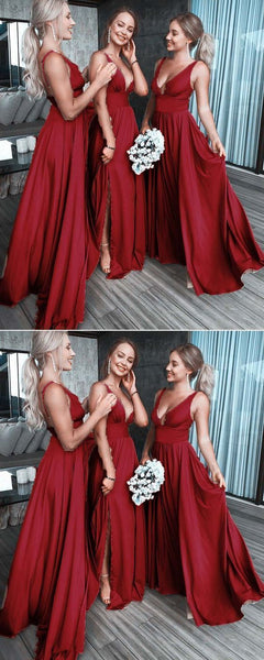 Long Sexy Elegant Most Popular Cheap Modest Bridesmaid Dresses,F0331