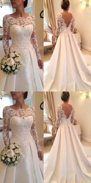 Wedding Dresses: New White/Ivory Lace Wedding Dress Bridal Gown, F0457