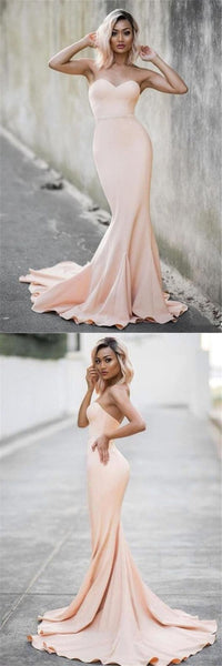 elegant prom dresses,2019 prom dresses,descent sweetheart prom evening dresses,pearl pink mermaid evening gowns,mermaid prom party dresses, F0514
