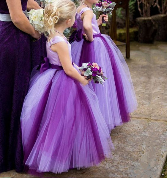 Flower Girl Dress,Cheap Flower Girl Dress,A-line Flower Girl Dress,Kids Birthday Party Dress,Girl's Party Dress,Lovely Flower Girl Dress,Handmade Flower Girl Dress,Long Flower Girl Dress , F0717
