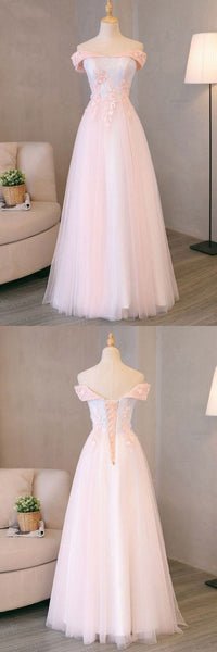 Pink And Light Blue Sweetheart Tulle Prom Dress 2019, Charming Formal Gown 2019, Party Dress 2019, F0905