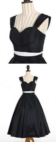 A-Line Off-the-Shoulder Short Black Homecoming Dress,Simple Homecoming Dresses,Cheap, M0186