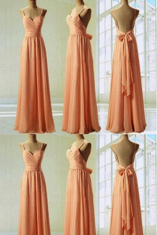 Custom Made Admirable Custom Bridesmaid Dress, Long Bridesmaid Dress,M0790