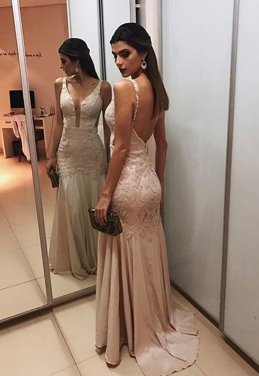 Straps Backless Prom Gowns,Prom Dresses,A-line peon dress,M0860