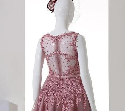 New Scoop Neck Sleeveless Lace Cocktail Dresses Short Homecoming Dresses,AP473
