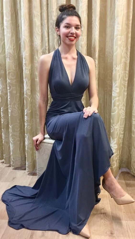 New Arrival V-Neck Prom Dresses,Long Prom Dresses,Green Prom Dresses, Evening Dress Prom Gowns, Formal Women Dress,Prom Dress, Y0103