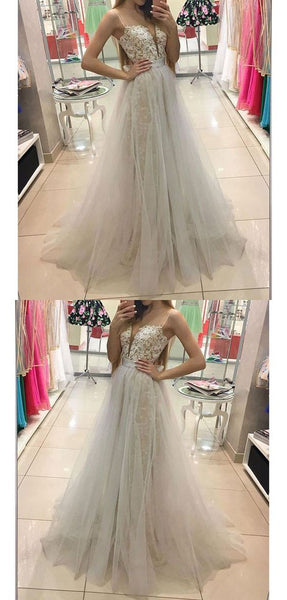 Elegant Spaghetti Straps A-Line Prom Dresses,Long Prom Dresses,Green Prom Dresses, Evening Dress Prom Gowns, Formal Women Dress,Prom Dress, Y0124