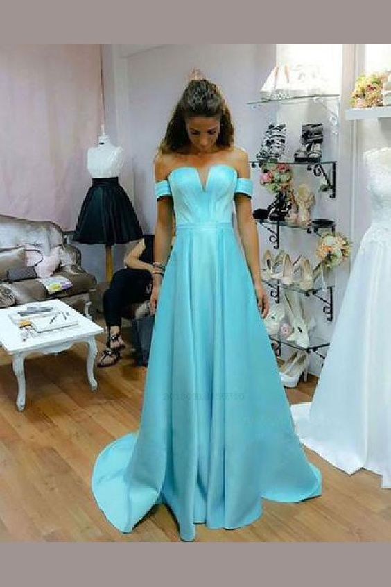 Discount Appealing 2019 Prom Dresses, Prom Dresses Long, Prom Dresses Blue,Y0336