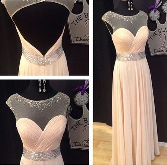 Backless Prom Dresses,Open Back Prom Dress,Cap Sleeves Prom Gown,Sparkly Prom Gowns,Elegant Evening Dress,Sparkle Evening Gowns,Beaded Evening Gowns,Sexy Prom Dress,Y0881