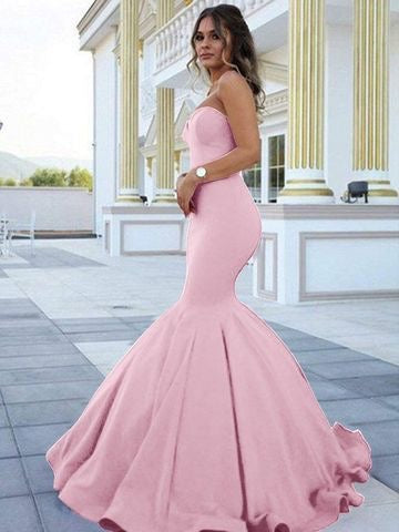 STRAPS MERMAID LONG PROM DRESSES FOR WOMEN EVENING GOWNS,CD578