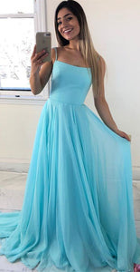 Satin Top Prom Dresses,Long Evening Dresses,Long DressesCD658