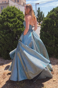 Ball Gown Long Prom Dresses Formal Evening Gowns ,DR0372