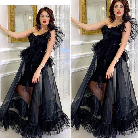 black prom dresses sweetheart neckline beading pearls a line tulle long evening dresses formal dresses,DR0394