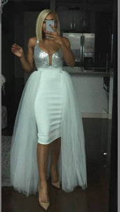 Sexy White Prom Dress,DR0464