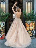 Chic Lace Prom Dress African A Line Tulle Beauty Prom Grown,DR2751