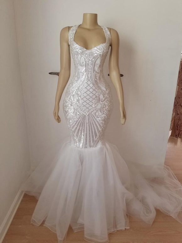 Mermaid Gown, Luxury Gown, Princess Gown, Evening Gown.prom dress 2021,DR4728