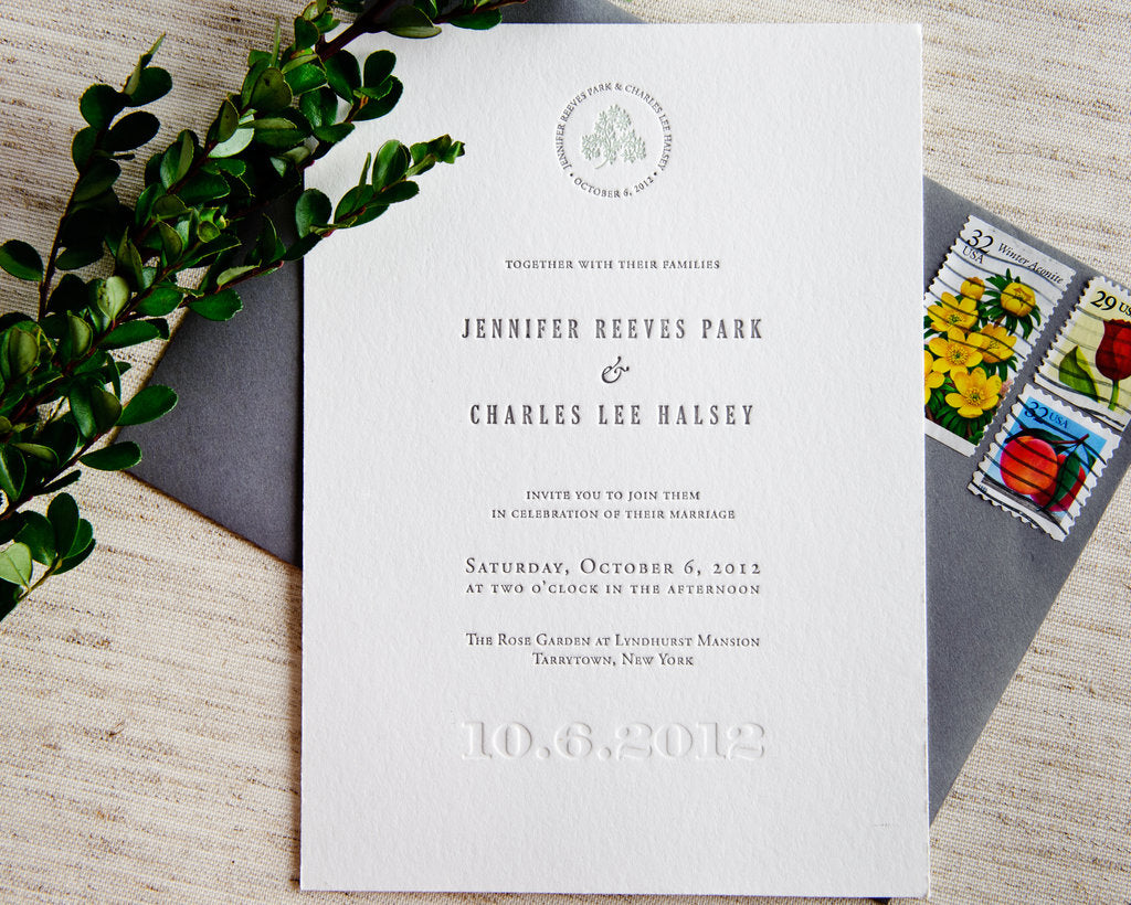 Wedding Invitations Uk Free Samples: Signature Letterpress Wedding Invitation Samples