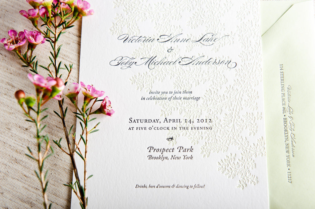 wedding invite samples